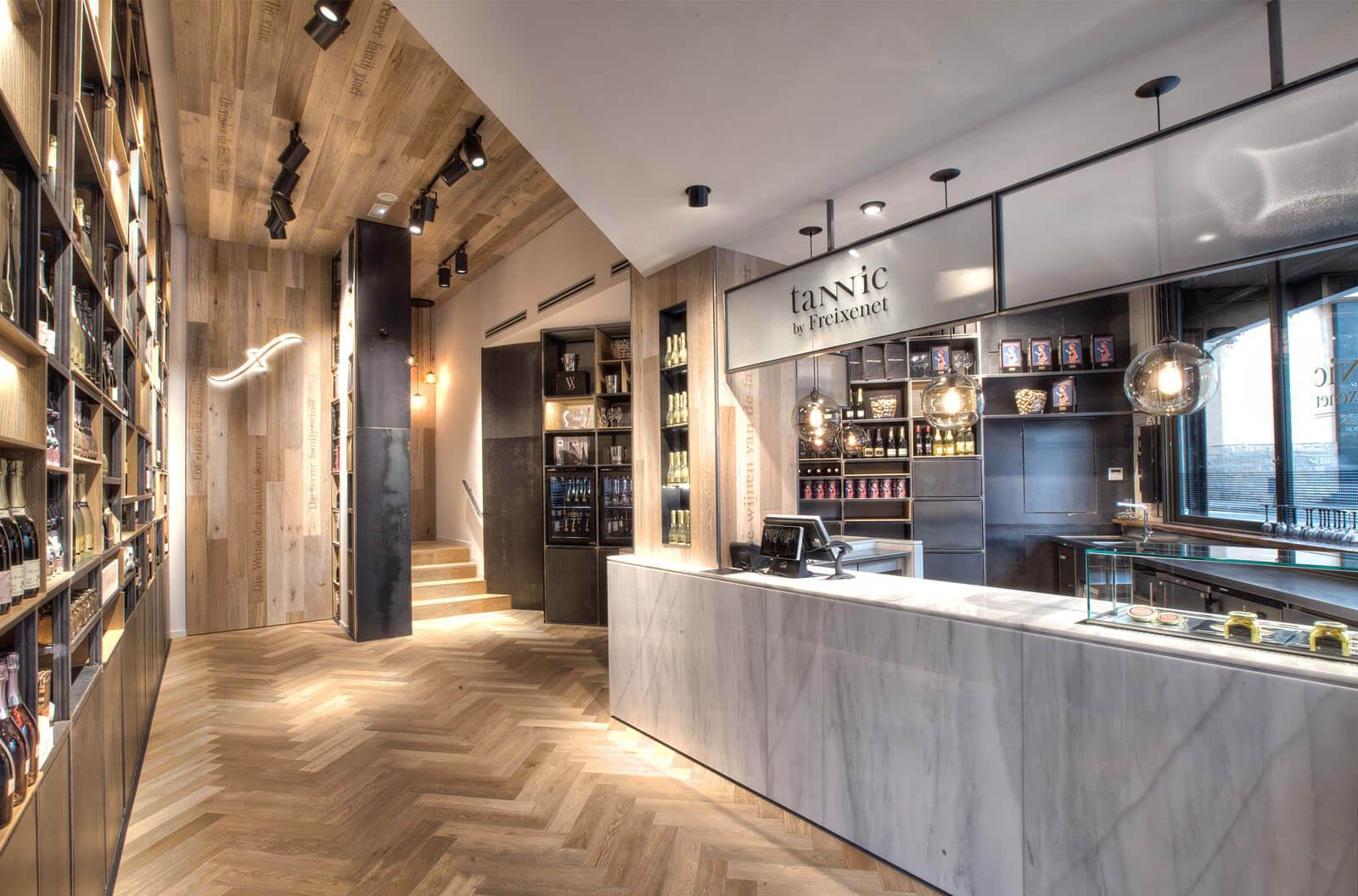 Tannic by Freixenet - INDAStudio - Interiorismo Barcelona